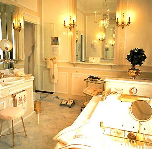 coco chanel suite Bathroom