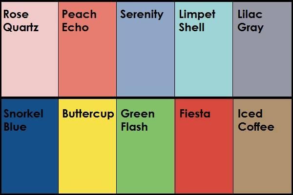 colore trend 2016
