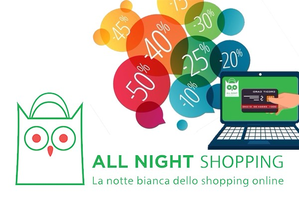 notte bianca dello shopping online