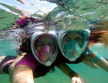 easybreath maschera per snorkeling