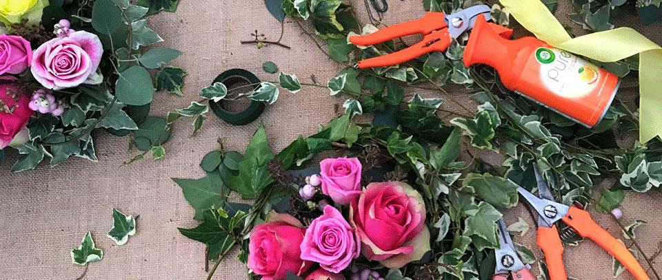 composizioni di fiori per arredare